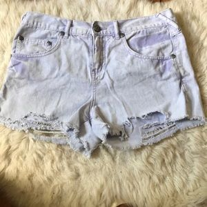 Free people lilac shorts